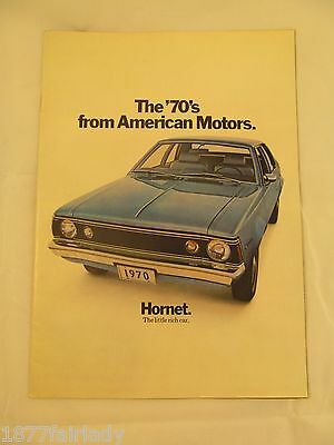 The 70s From American Motors Brochure Hornet The Little Rich Car