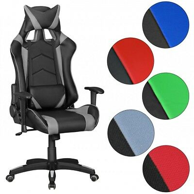 Gaming Office Chair GOAL Reclining Computer Desk Executive Chair Car Seat Swivel