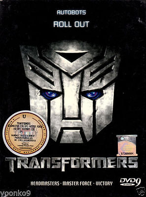 DVD Anime Transformers Headmaster Masterforce Victory English subbed CompleteSet