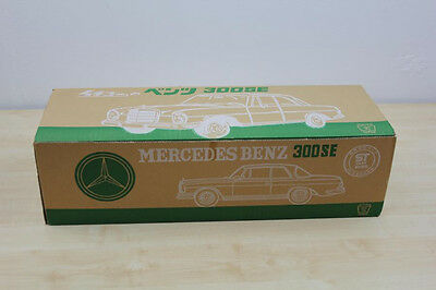 Tin Toy Mit Ovp, Grosser Ichiko Mercedes 300 Se, Japan, Blech