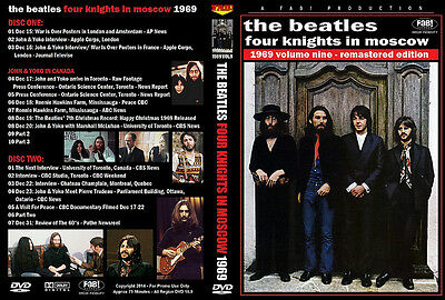 The Beatles: Four Nights In Moscow 1969 Vol.9 2 Dvd