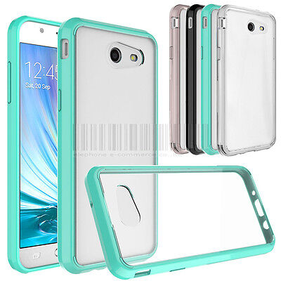 Shockproof Hybrid Hard Rubber Phone Case Cover For Samsung Galaxy J3 Emerge 2017