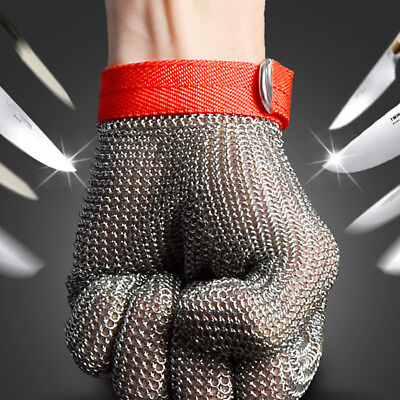 [NEW] Safety Cut Proof Stab Resistant Stainless Steel Metal Mesh Butcher Glove S