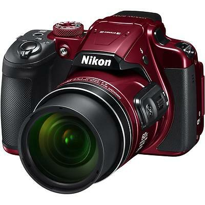 Nikon COOLPIX B700 Digital Camera Red