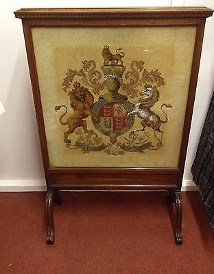 Antique Screen Made By Waring & Gillow Appointment To The King George III