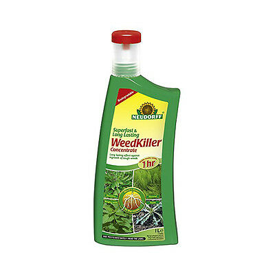 Neudorff Superfast Long Lasting Weedkiller Concentrate 1L