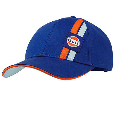 NEW ~ Gulf Racing Cap Headwear Motorsport Hat Adult