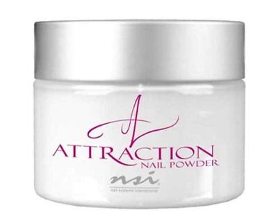 NSI Attraction Acrylic powder Radiant White 40g Pot New