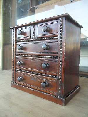 Edwardian Miniature Antique Pine Chest Of Drawers