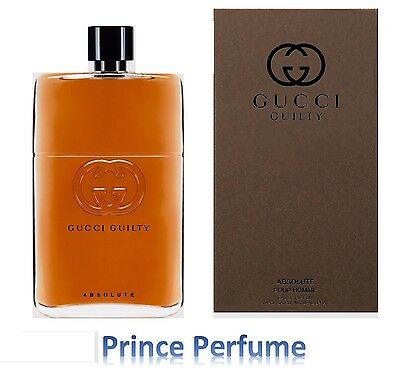 GUCCI GUILTY ABSOLUTE POUR HOMME EDP VAPO NATURAL SPRAY - 50 ml