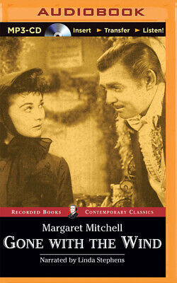 Gone with the Wind by Margaret Mitchell (2015, MP3 CD, Unabridged)