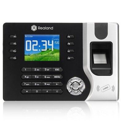 [NEW] Realrand A-C071 2.4inch TCP/IP Fingerprint Attendance Access Control Time