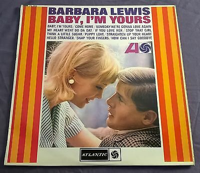 BARBARA LEWIS ~ baby i'm yours ~ UK PLUM ATLANTIC ATL 5042 LP EX+