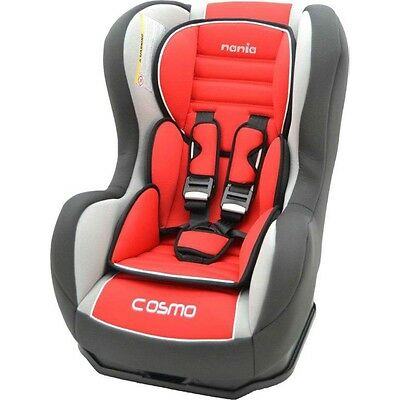 Nania Cosmo SP 0-4 YR Rear & Forward Facing Recliner Car Seat Agora Carmin Red
