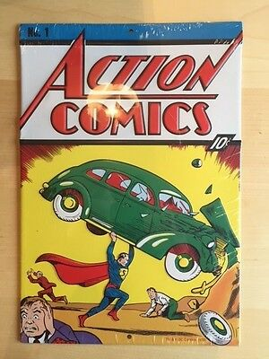 Loot Crate Exclusive DC Superman Action Comics #1 Metal Sign