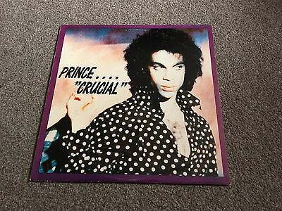 Prince With Miles Davis And Friends - Crucial - Rare 1990 Lp Ex -Look In My Shop