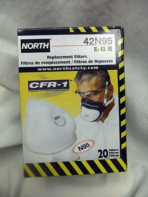 North 42N95 Repalcement Filter CFR-1 for 4200 Respirator Qty of 20