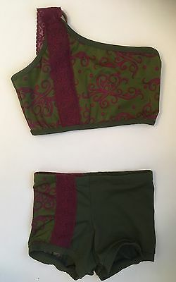Petite Adult Custom Dance Outfit, Convention Wear 2 Pc