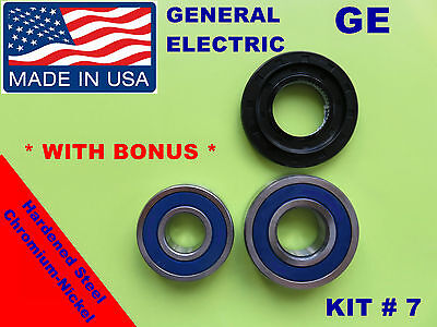 Front Load Washer,2 Tub Bearings And Seal, Ge,general Electric,kit # 7,