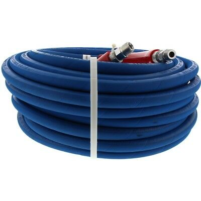 "Pressure Pro 3654 100 ft 3/8"" Blue Non-Marking 6000psi Pressure Washer Hose"