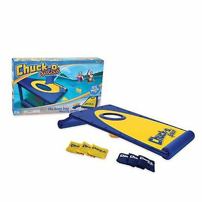 Ideal Chuck O Splash Swimming Pool Floating Bean Bag Corn Hole Tossing Game