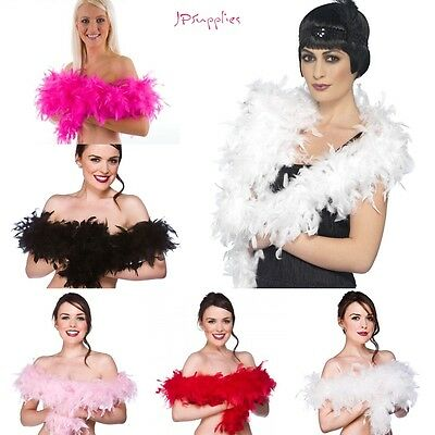 Thick Feather Boa 2meter Long Perfect 4 FancyDress Hen Night Party Burlesque