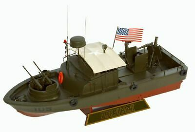 "US Navy PBR MK-II Patrol River Boat Vietnam War 12"" Model Ship 1/24 Assembled"