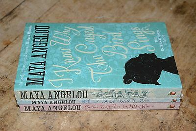 Maya Angelou Collection 3 books,I Know Why The Caged Birds, Still I Rise,Gather