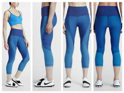 15e40d84b0d40 $140 NEW Womens Nike POWER Zoned Sculpt Training Compression Tights 810967  SMALL