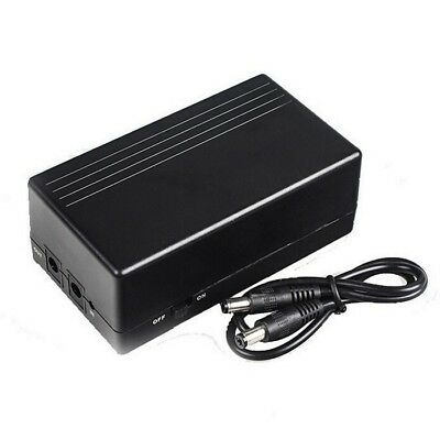 [NEW] 12V2A 44.4W UPS Uninterrupted Power Supply Backup Power Mini Battery for C