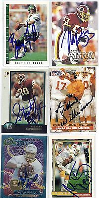 1997 Fleer #130 Marvcus Patton Washington Redskins Signed Autographed Card