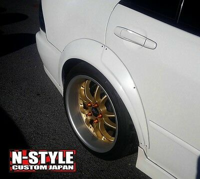N-style Custom Type 5 Fender Flares Rear 4 door ae71 GDB Impreza is300 JCE10
