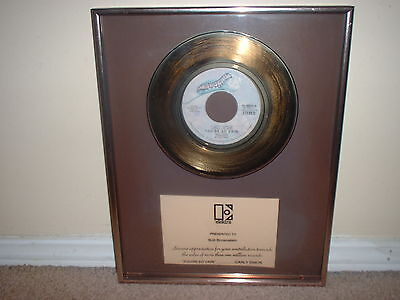 "Carly Simon Elektra Gold Record Award 45 Non Riaa ""you're So Vain""  Very Rare!!"