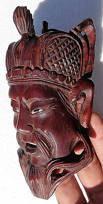 CINA (China): Fine and old Chinese carved wood mask