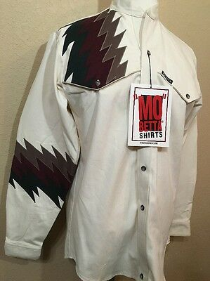 VTG New with tags Mo Betta Western Shirt Size 15.5 34 (medium) NOS NWT