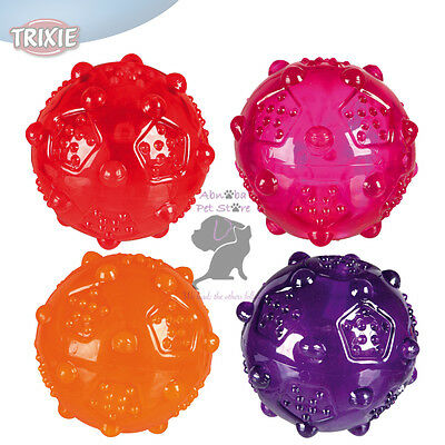 Ball thermoplastic rubber (TPR) robust & durable with sound Dog Puppy Throw Toys
