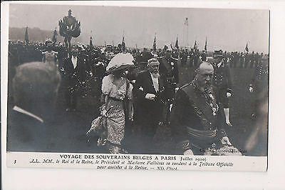 Vintage Postcard King Albert I  & Queen Elisabeth of Belgium