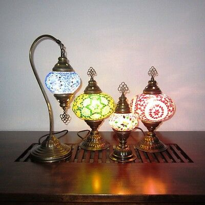 Turkish Mosaic Lamps - Handcrafted