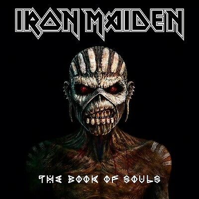 Iron Maiden - The Book Of Souls ( 2 CD - Album )
