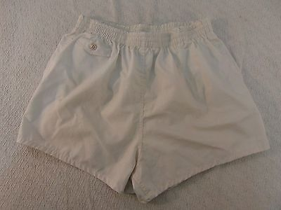 New Old Stock Vintage Military General Purpose Large (36-39) White Lined Trunks