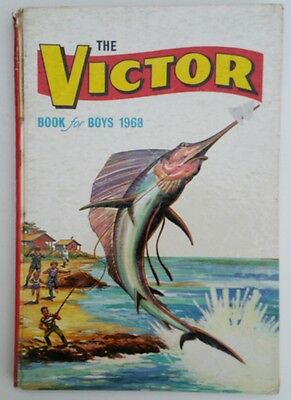 Vintage 1968 Victor Book for Boys Comic Book Annual