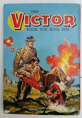 Vintage 1974 Victor Book for Boys Comic Book Annual