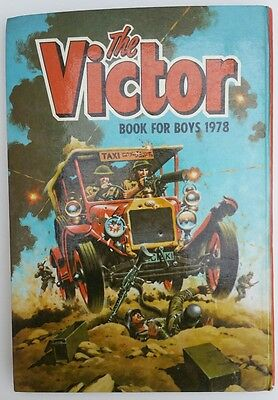 Vintage 1978 Victor Book for Boys Comic Book Annual