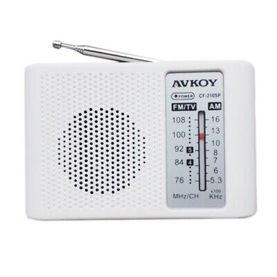 [NEW] DIY Portable AM FM Radio Kit 76-108MHZ 525-1605KHZ Suitable For Electronic