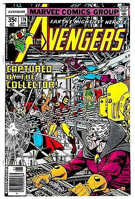 AVENGERS #174 (FN/VF) COLLECTOR Cover Story Appearance! George Perez Art! 1978
