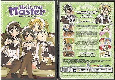 He Is My Master Anime (DVD, 2009, 2-Disc Set) BRAND NEW AND SEALED