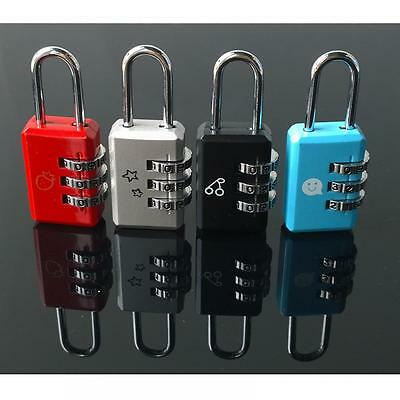Code Suitcase Luggage Dial Password Digit Combination Lock Tool