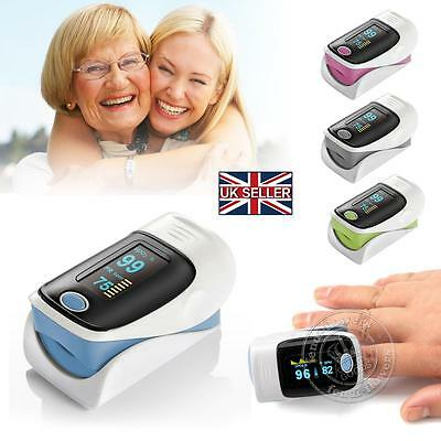 Finger Fingertip Blood Oxygen Meter OLED SPO2 Pulse Heart Rate Monitor Oximeter