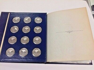 Bicentennial Edition The Genius Of Thomas Jefferson Sterling Silver Proof Set