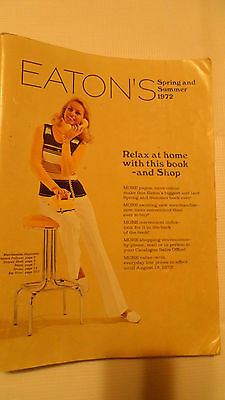 Vintage Eaton's 1972 Spring Summer Catalog 748 Pages